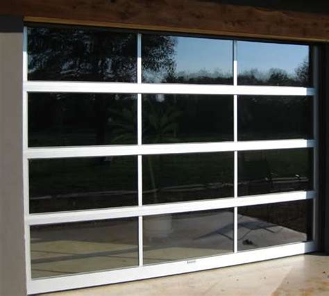 Glass Garage Door Full View Aluminum Clear Awesome View Garage Door