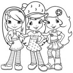 strawberry shortcake free coloring pages art coloring