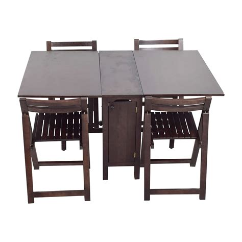 bed bath beyond folding table dining sets sale