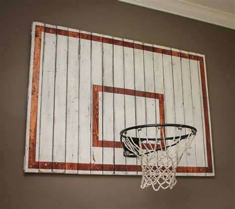 basketball hoop for bedroom wall we had a large empty wall in the boys playroom i thought