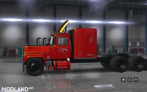 mack rs  rs  rubber duck  mod  american truck simulator ats
