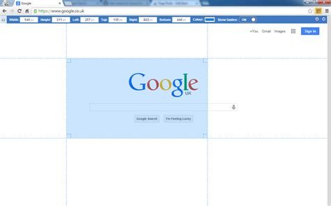 chrome ruler page ruler a google chrome extension blarg co uk