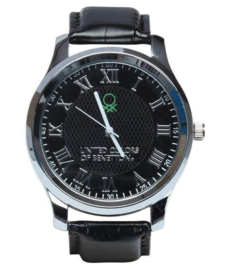 colors of benetton united color of benetton black analog buy united