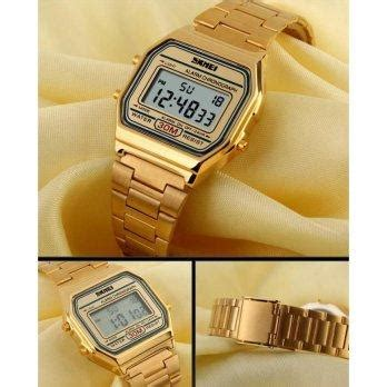 Jam Tangan Original Skmei Model Casio Stainless Anti Air 30m 066 Ws harga jam tangan wanita original model casio skmei 1123