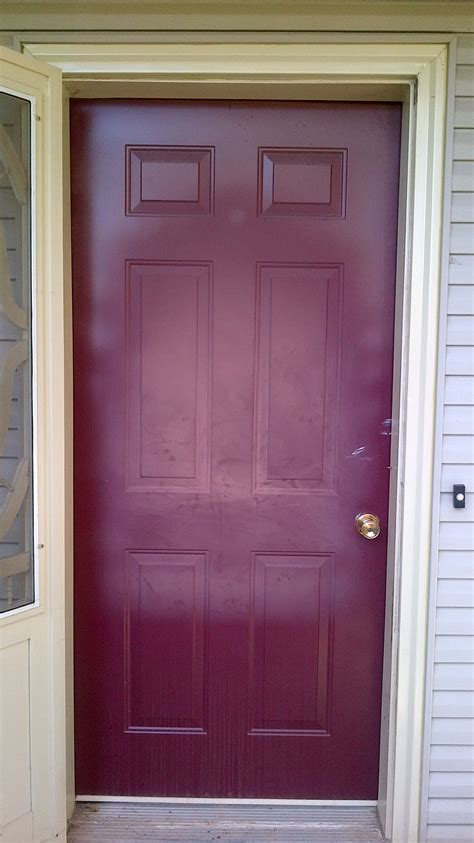 exterior metal door paint how to paint exterior doors