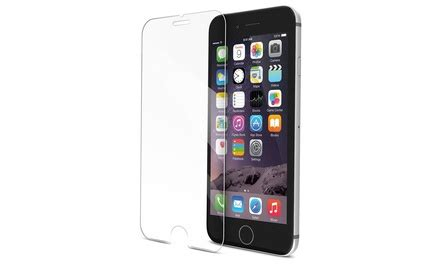 Tempered Glass Iphone 66s7 tempered iphone screen protector groupon goods