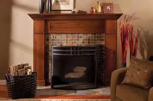 craftsman fireplace craftsman style