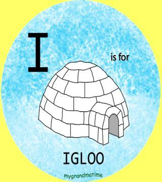i is for igloo bing images