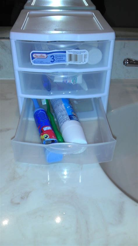 Drawer Toothbrush Holder by 8 Best Images About Toothbrush Organization On