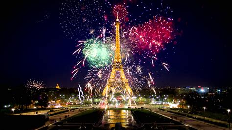 wallpaper 4k live eiffel tower during the new year in 4k live wallpaper