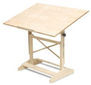 How To Use A Drafting Table Wood Drafting Table Blick Materials