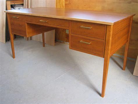 cherry office desk made cherry office writing desk by gary jonland