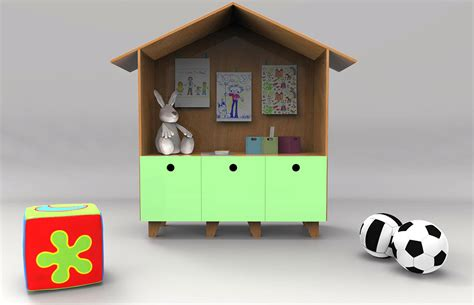 domum modern kids desk by carolina balbino and pedro