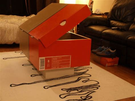 nike shoe box coffee table - Nike Shoe Box Coffee Table