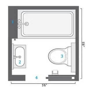 5x7 Bathroom Floor Plans by Bathroom Floor Plans 5x7 Trend Home Design And Decor