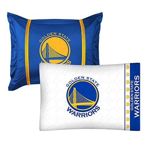golden state warriors bed set 2pc nba golden state warriors pillowcase and pillow sham