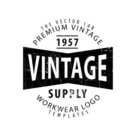 logo templates vintage workwear logo templates logo