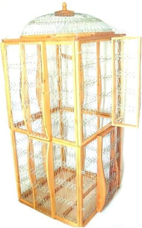Handmade Cage - unique bird cages wooden handmade unique bird cages aviaries
