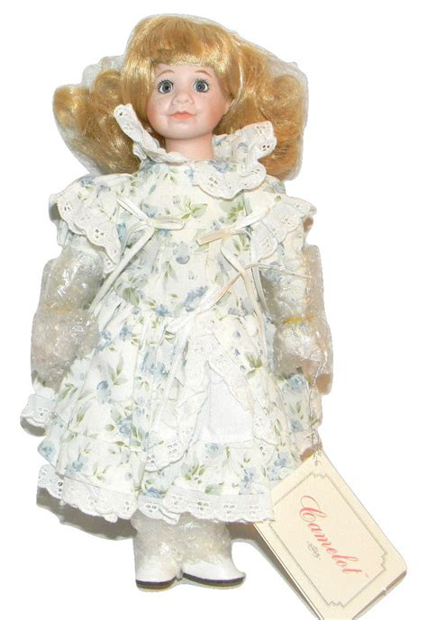 Handcrafted Porcelain Doll - quot quot a handcrafted porcelain camelot doll other