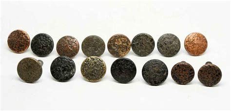 arts crafts cabinet knobs set of 15 textured arts crafts cabinet knobs olde