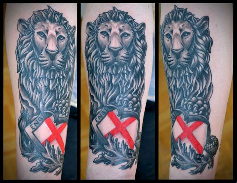 english lion tattoo designs forearm sola fide society