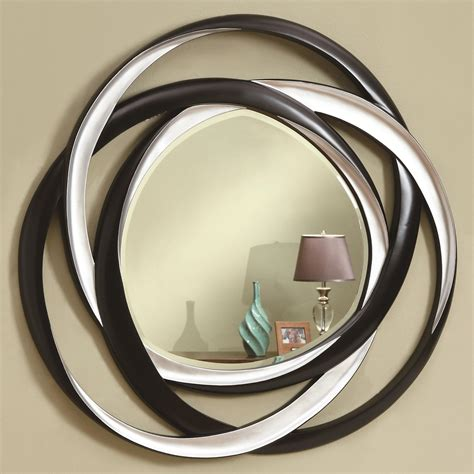 Accent Mirrors Coaster Accent Mirrors Two Tone Contemporary Mirror