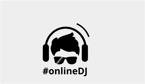 Online Architect Design dj logo designer 7041