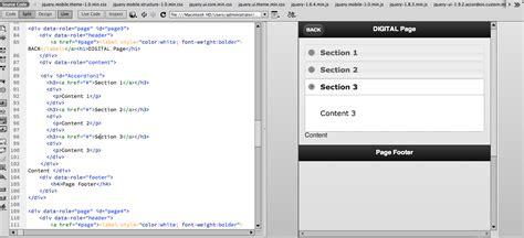 phonegap tutorial with dreamweaver jquery adobe dreamweaver cc phonegap build service issue