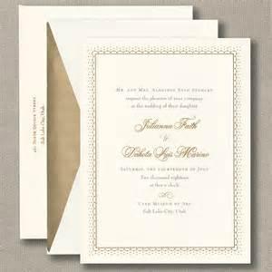 pointelle lace wedding invitation wedding invitations - Crane Wedding Invitations