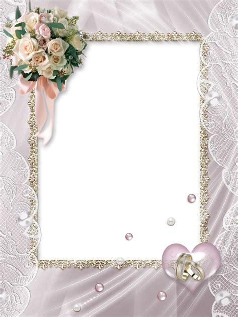 Wedding Border Transparent by Beautiful Soft Transparent Wedding Photo Frame Wedding