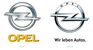 Opel Corsa Logo Opel Logo Neues Opel Logo Auf Altem Astra Opel Astra