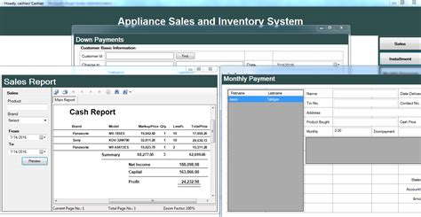 simple visual basic inventory system appliance sales and inventory system free source code