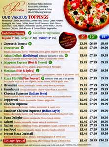 pizza cottage burger takeaway on evington road leicester