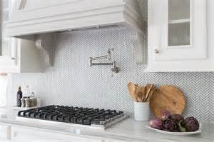 sacks kitchen backsplash white and gray kitchen with chevron counter stools