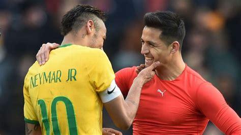 alexis sanchez y neymar psg ready for neymar talks and back in for alexis sanchez