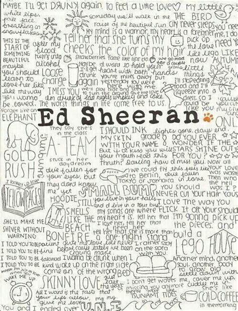 ed sheeran az lyrics 17 best images about quotes lyrics on pinterest maps