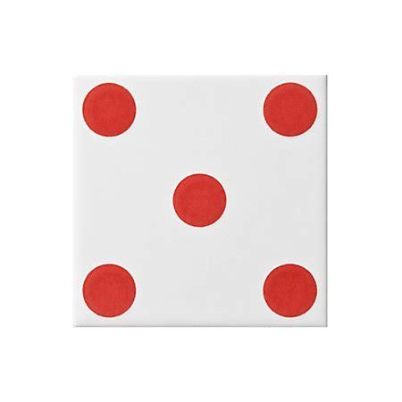 printable dice spots dice spot red ceramic wall tile l 100mm w 100mm