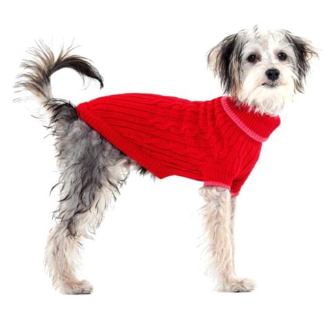 puppy sweater fashion pet fashion pet classic cable knit sweaters sweaters