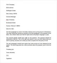 English Business Letter Sample Pdf Business Letter Format 9 Free Samples Examples Format