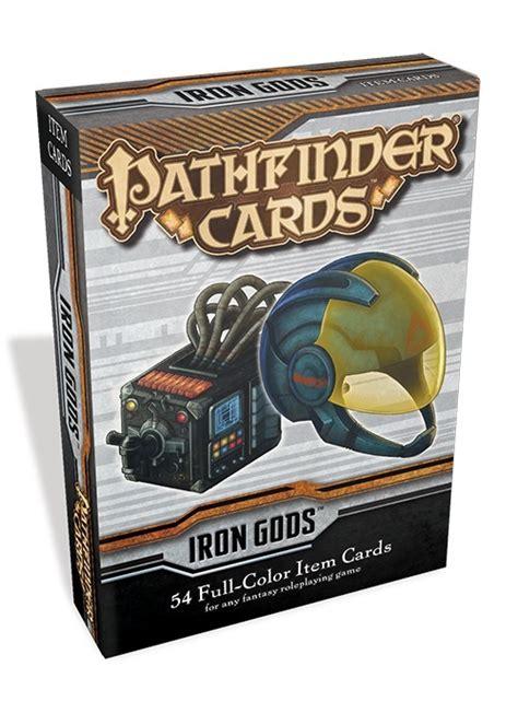 Pathfinder Item Card Template by Paizo Pathfinder Cards Iron Gods Adventure Path