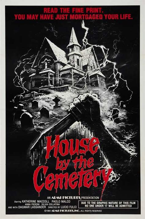 house by the cemetery the house by the cemetery movie posters from movie poster shop