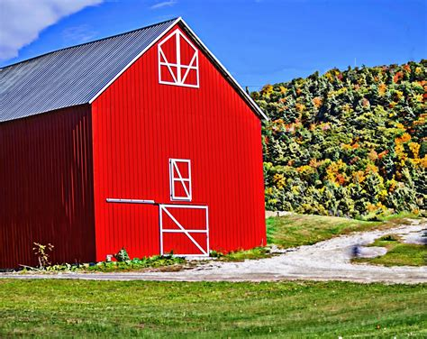 red barn the red barn free stock photo public domain pictures