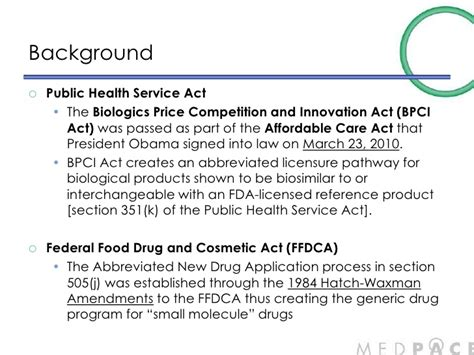 section 351 of the public health service act us biosimilar guidance jim wei june 2012 3