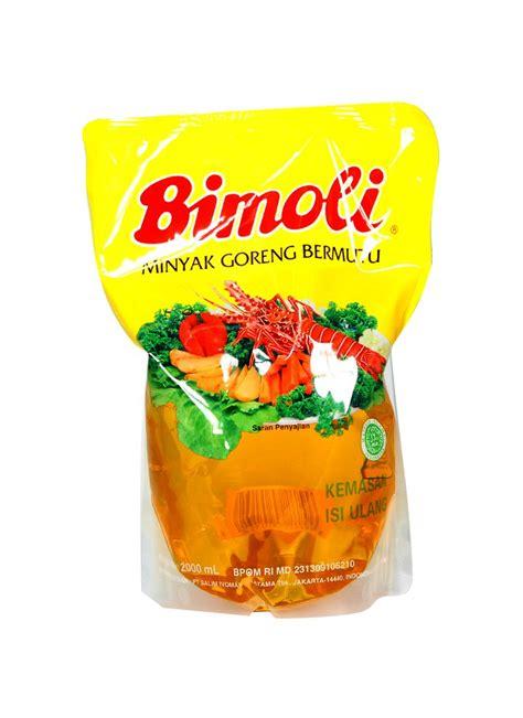 Minyak Goreng Bimoli bimoli minyak goreng refill pch 2000ml klikindomaret