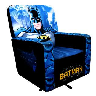 batman recliner chair warner brothers adult batman animated classic hero gaming