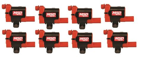 coil pack resistor msd ignition coils gm ls truck 99 07 8 pack ebay