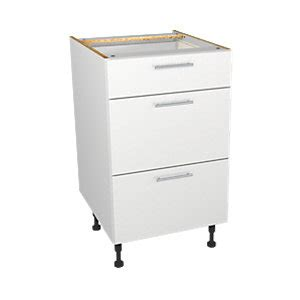 replacement kitchen drawers wickes wickes miami drawer unit white 500mm