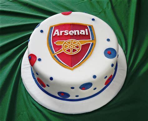 Arsenal birthday cake flickr photo sharing