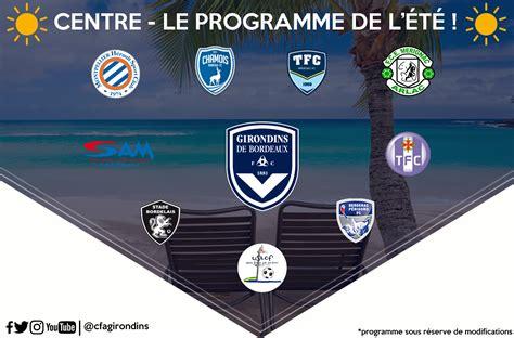 Calendrier Des Matchs Amicaux Le Programme Des Matchs Amicaux Formation Girondins