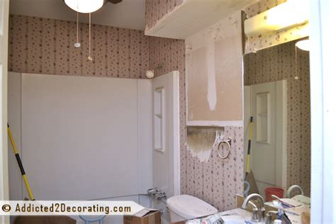 Bathroom Makeover In A Day Bathroom Makeover Day 6 What A Mess I Ve Created